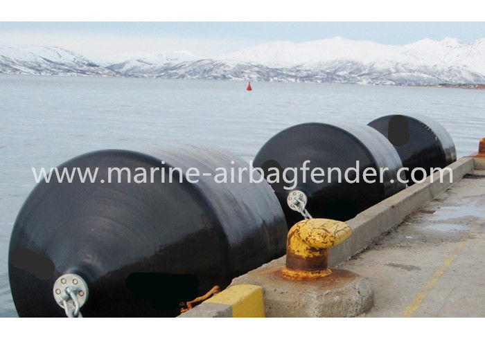 Unskinkable Polyurethane Foam Filled Fenders For Ship To Ship Transfer